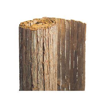 Brise vue en écorces de pin naturel - 1 rouleau de 2 x 5 m ...