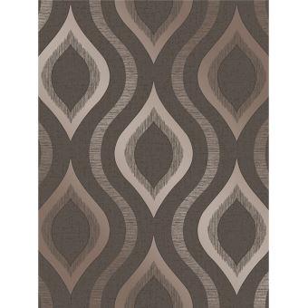 Quartz géométrique Bronze Papier peint Fine Décor FD41982