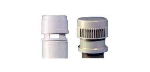 Clapet aérateur VENTILO - clapet mixte colonne de chute pour Ø : 75 - 80 - 100 - 110 mm