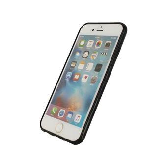 Mobilize etui de protection - apple iphone 6 / 6s - gel silicone - noir