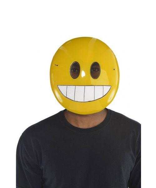 Amscan masque smiley jaune taille unique