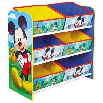 Disney Meuble De Rangement Mickey Mouse 51x23x60cm Worl119011 Achat Prix Fnac