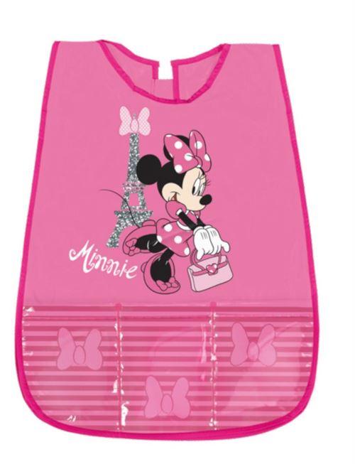 Perletti tablier enfant Minnie Mouse fille souris rose 46 cm
