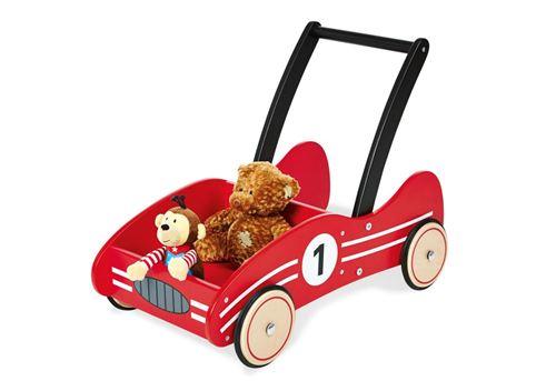 Pinolino KIMI Chariot de marche Rouge