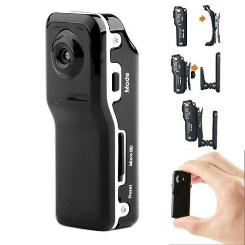 (#33) MD80 3 in 1 Mini Digital VIDEO Camera Camcorder POCKET DV with 720*480 pixels, Viewing Angle: