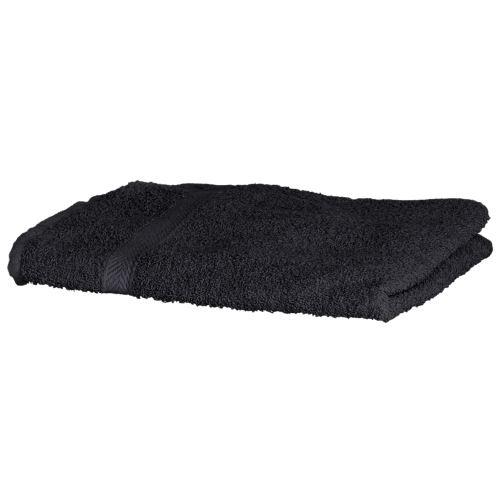 Towel City - Serviette de toilette 100% coton (50 x 90cm) (Taille unique) (Noir) - UTRW1576