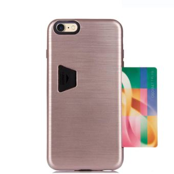 coque iphone 7 porte carte rose