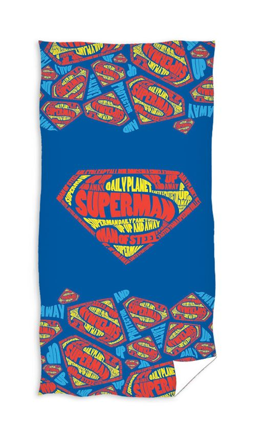 Marvel Serviette de bain Superman 140 x 70 cm