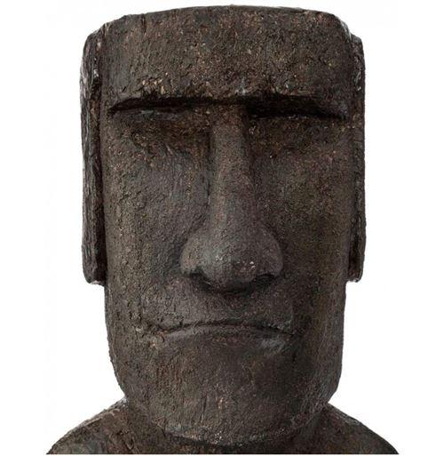 Statue île de Pâques - L 25 cm x l 18 cm