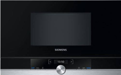 Siemens iQ700 BF634LGS1 - four micro-ondes monofonction - intégrable - inox