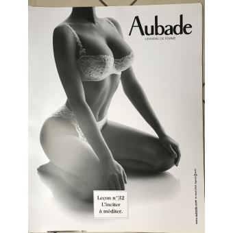 best shoes release date: cheap prices AUBADE - 50x62 cm - AFFICHE / POSTER, Poster/affiche enroulé ...