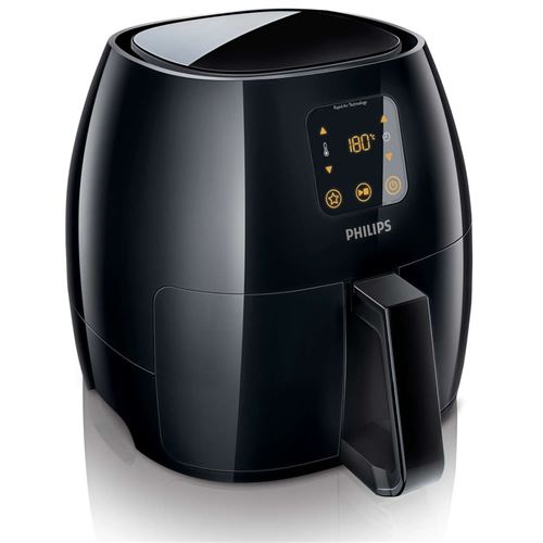 Philips Avance Collection HD9240 XL - Friteuse - noir