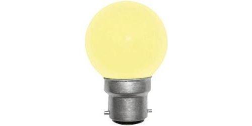 Ampoule de rechange pour guirlande lumineuse LED 180278-LE5510Y B22 230 V 1 W jaune 1 pc(s)