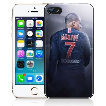 Coque pour iPhone 4/4S football france mbappe dos