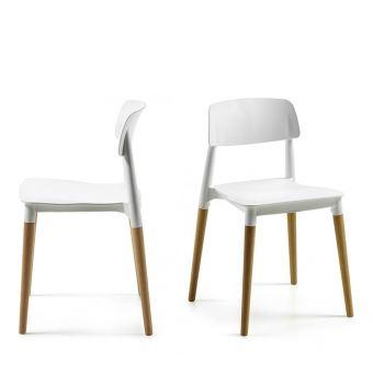 Lot De 2 Chaises Design Glamwood