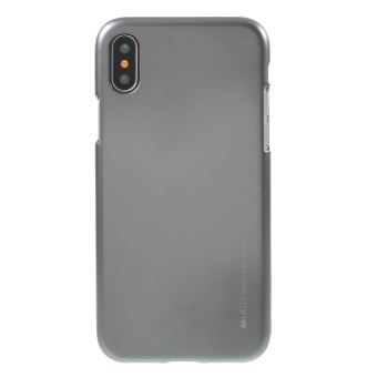 coque iphone x gris metallique