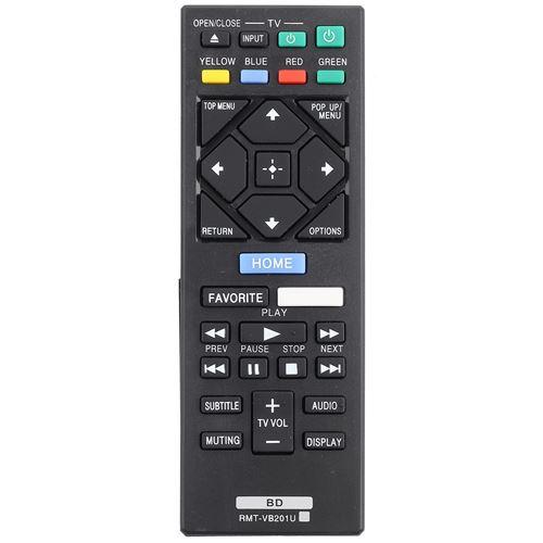 Télécommande de DVD Blu-Ray RMT-VB201U pour Sony BDP-S3700 BDP-BX370