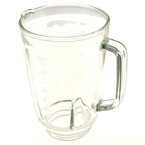 Bol mixer verre nu pour Blender Kenwood, Robot Kenwood