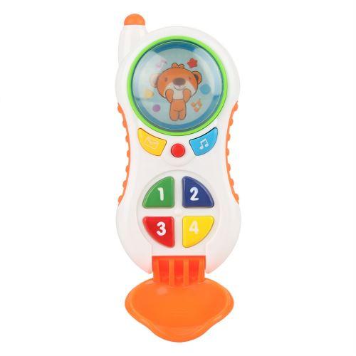 Téléphone Jouet de Bébé Éducatif avec Son et Lumière