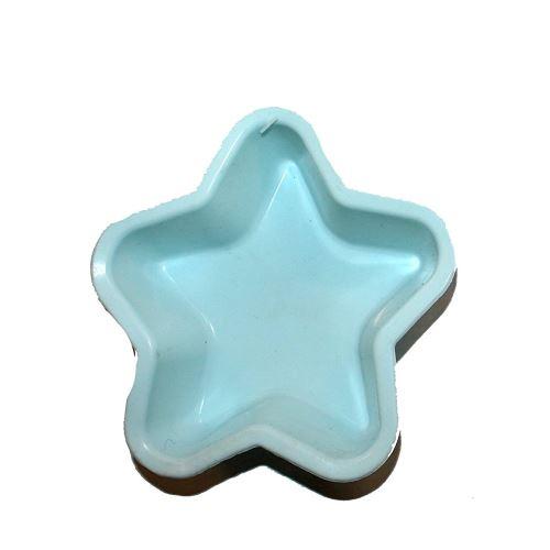 Moule a tarte etoile en silicone gâteau patisserie bleu