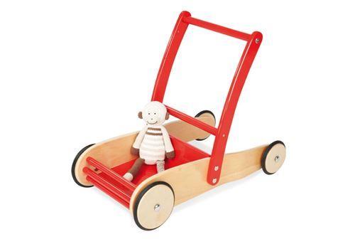 Pinolino ULI Chariot de marche Rouge