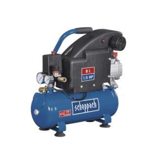 Scheppach Compresseur Hc08 230 V 50 Hz 1100 W 1 Pièce Bleu Noir 5906119901