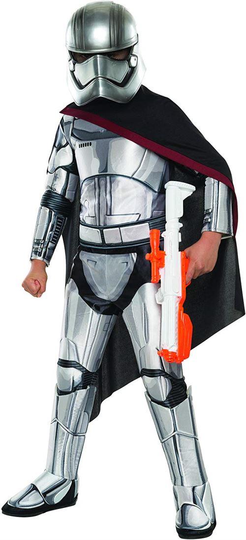 Rubies La Force Se réveille Déguisement, Enfants Star Wars Super Deluxe Capitaine Phasma Tenue, Medium, âge 5–7 Ans, Hauteur 10,2 cm 5,1 cm – 10,2 cm 15,2 cm