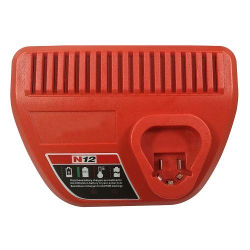 pour Milwaukee N12 Li-Ion Red Lithium 12V Batterie 48-59-2401 48-11-2440 Charge Au Royaume-Uni Xcq470