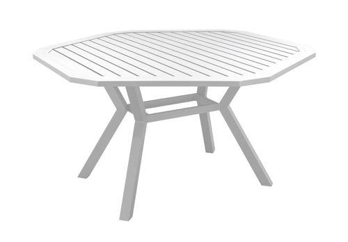 Table A Manger Ayma 150 En Aluminium Blanc