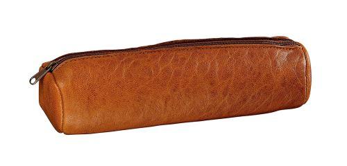 Elba 400079965 Trousse forme rond en cuir 22 x diamètre 7 cm Crispe