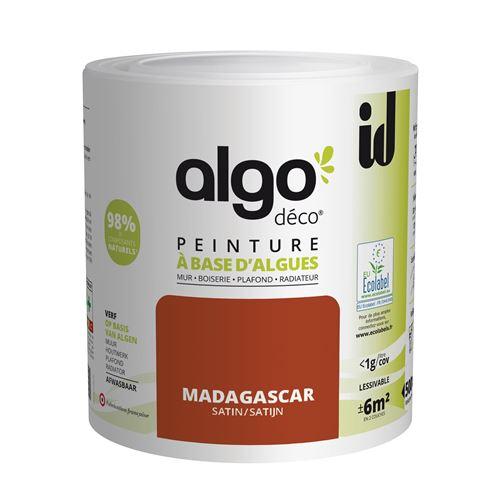 Peinture à Base D'algues Algo Satin Madagascar 500ml