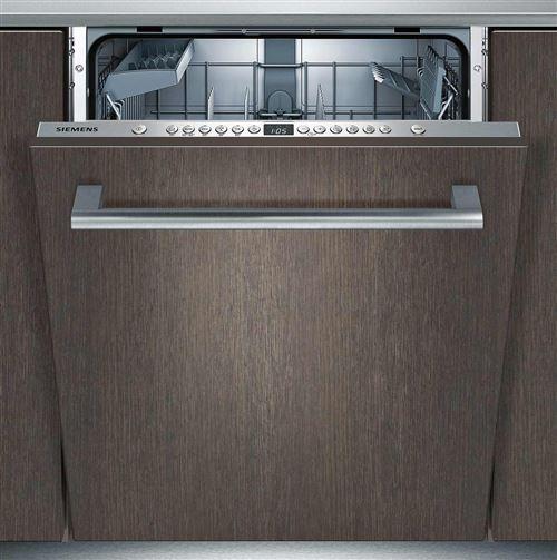 Siemens iQ300 SN636X01AE - Lave-vaisselle - intégrable - Niche - largeur : 60 cm - profondeur : 55 cm - hauteur : 81.5 cm