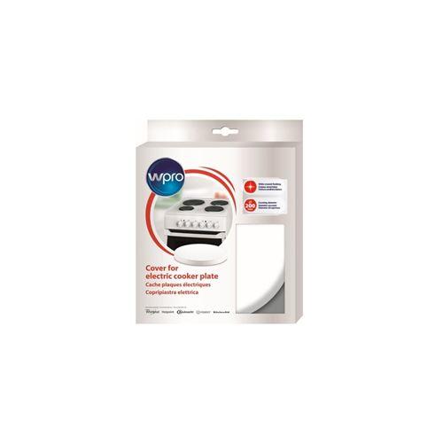 Wpro CQB210 - Cache plaque blanc - diam 200mm