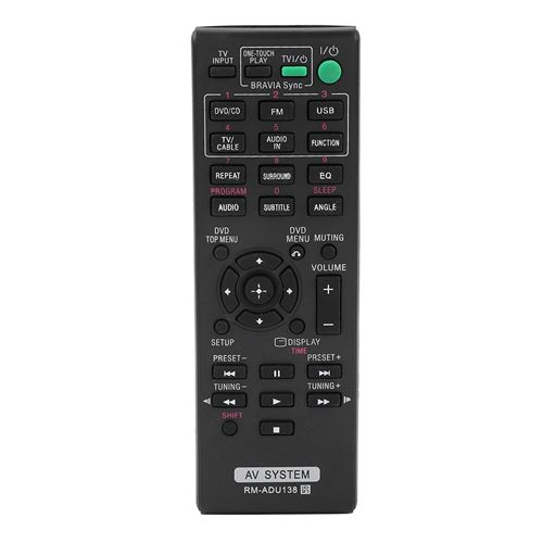 Télécommande de Smart TV pour Sony RM-ADU138 AV System