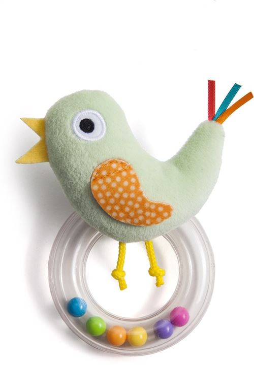 Taf Toys hochet Cheecky Chickjunior 13 cm vert clair