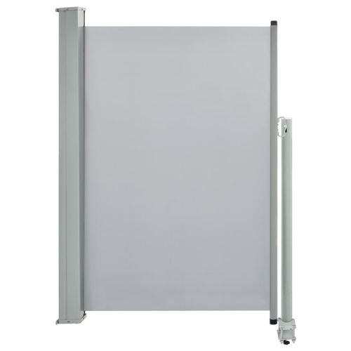 vidaXL Auvent latéral rétractable de patio 120 x 300 cm Gris