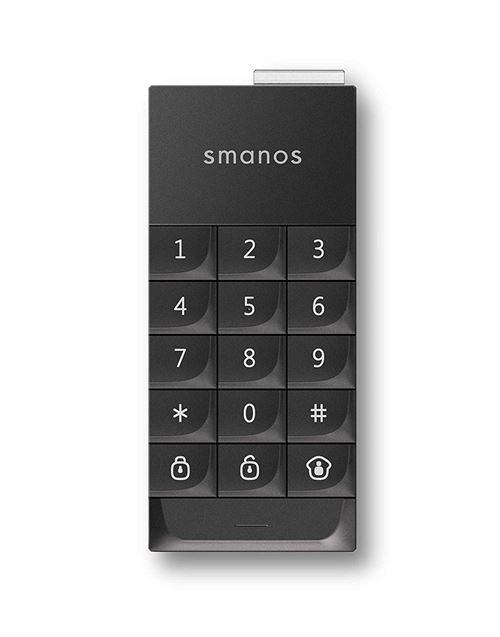 SMANOS RFID Clavier mot de passe protégé mot de passe pour alarme radio code