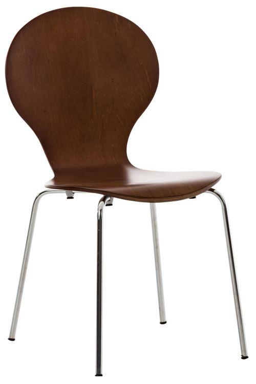 Chaise de visiteur Diego , Marron