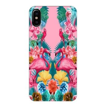 coque iphone x fleur exotique