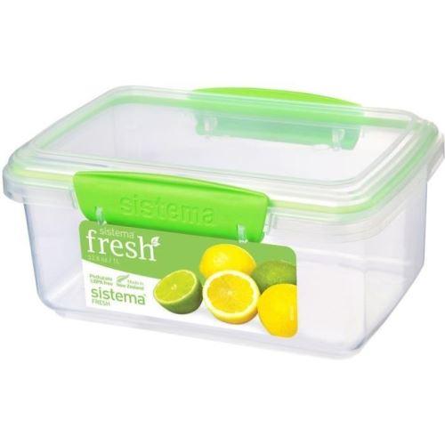 Sistema boîte alimentaire rectangulaire a clips - 1l 951600