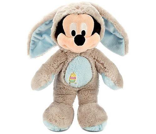 Exclusif Disney Lapin Mickey Mouse en Peluche de 12 pouces [Costume Gris Bleu]
