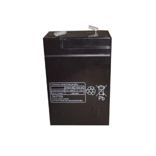 6,0v-4,5ah accu au plomb pb multipower 70x47x101mm - 8040389