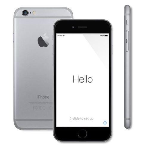 Apple iPhone 6 16 Go - Débloquer et Reconditionné à neuf Grade A - Gris sidéral