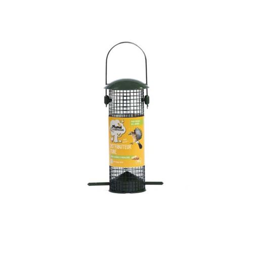 Distributeur tube pour graines d'arachide Plume et compagnie 300g