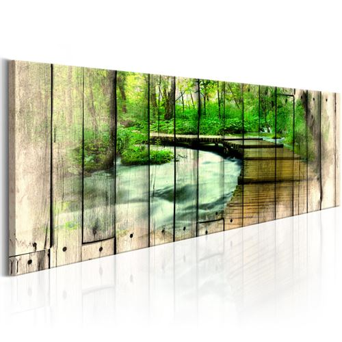 Tableau - Forestry Memories - Artgeist - 120x40