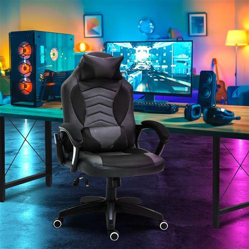 de fonction fauteuilchaise bureau gamer Luxe massage MpqVUzSG