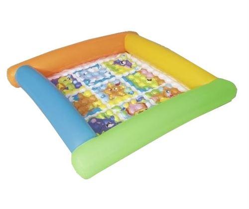Bestway tapis de jeu gonflable 132 x 23 cm multicolore