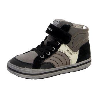 A Geox Chaussons Elvis Basket Enfant Grey Dark Chaussures Black Et wPXuTZOki