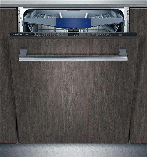 Siemens SN658X00ME - Lave-vaisselle - intégrable - Niche - largeur : 60 cm - profondeur : 55 cm - hauteur : 81.5 cm