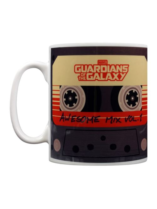 Marvel Comics Tasse Guardians Of The Galaxy Awesome Mix Vol. 1 blanc